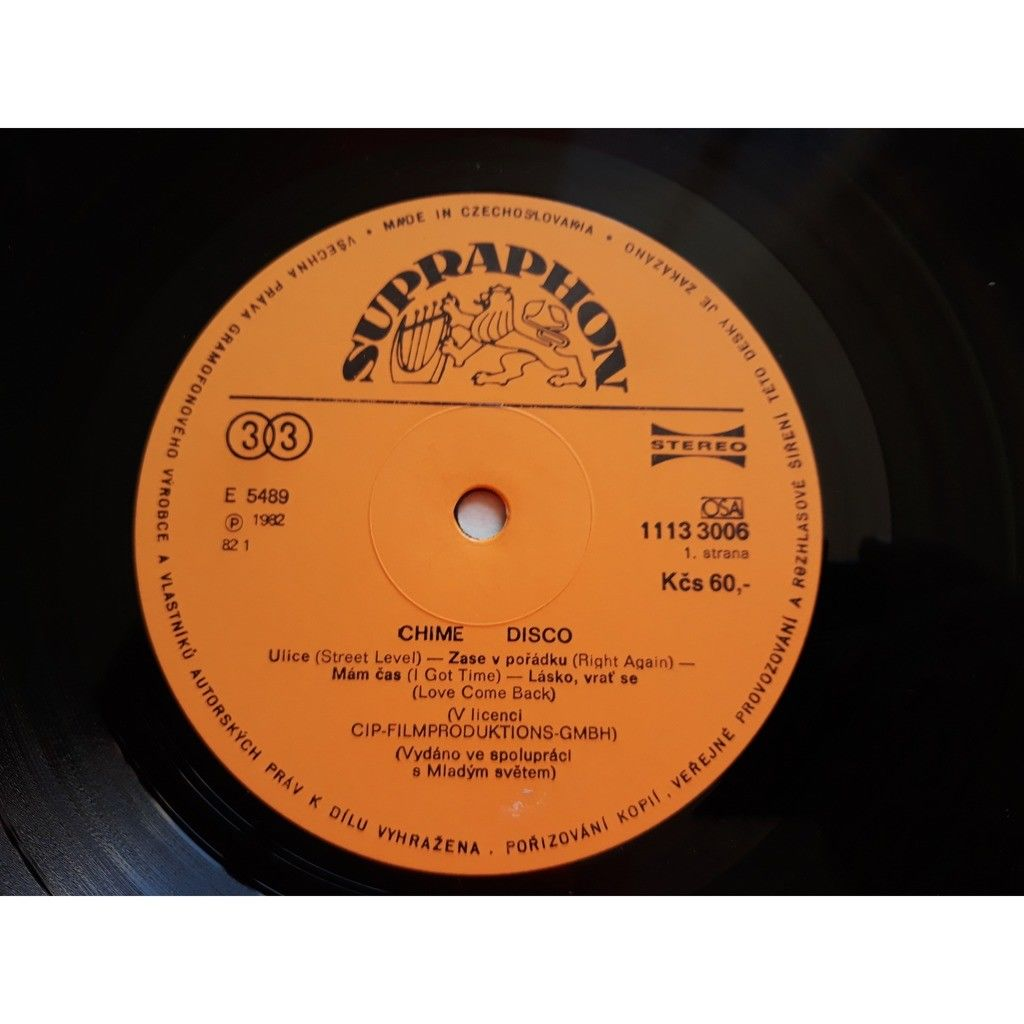 Chime - Disco (LP, Album) Chime - Disco (LP, Album)