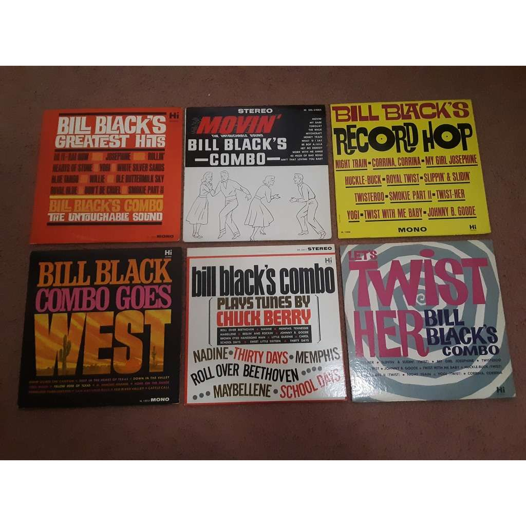 Bill Black Combo Bundle of 6 Records!