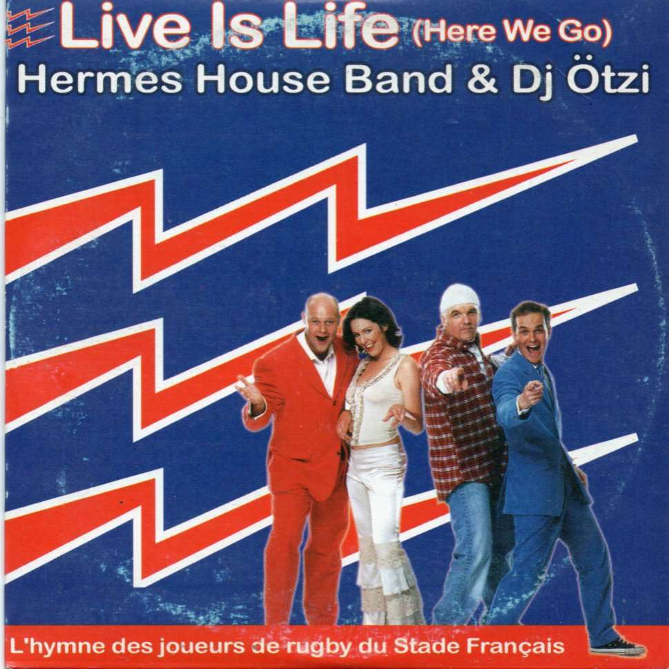 hermes house band & dj otzi live is life