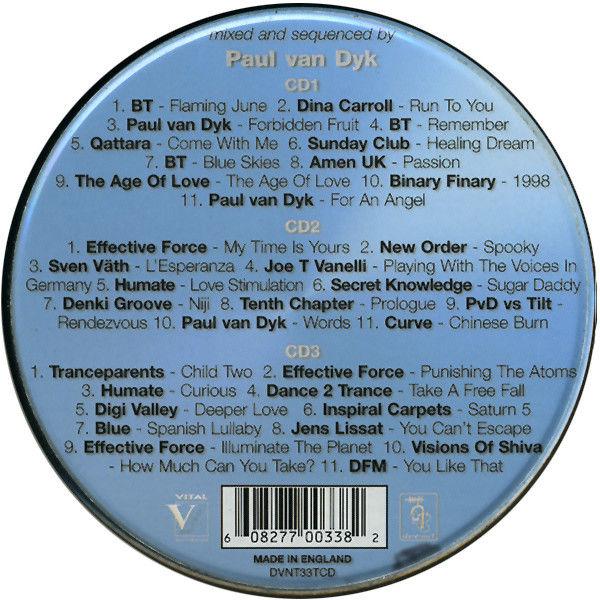 Paul van Dyk Vorsprung Dyk Technik - Paul van Dyk Remixes 92-98 (Circular Metal Box Limited Edition)