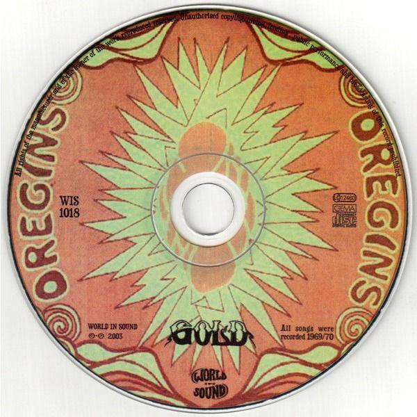 Gold Oregins S.F. 1970