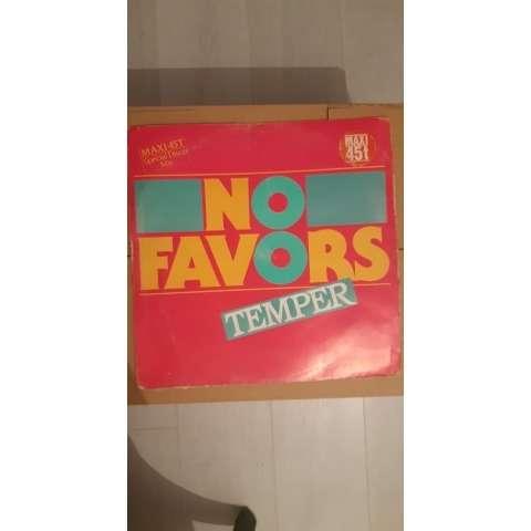 Temper (5) No Favors (Spécial Disco Mix)