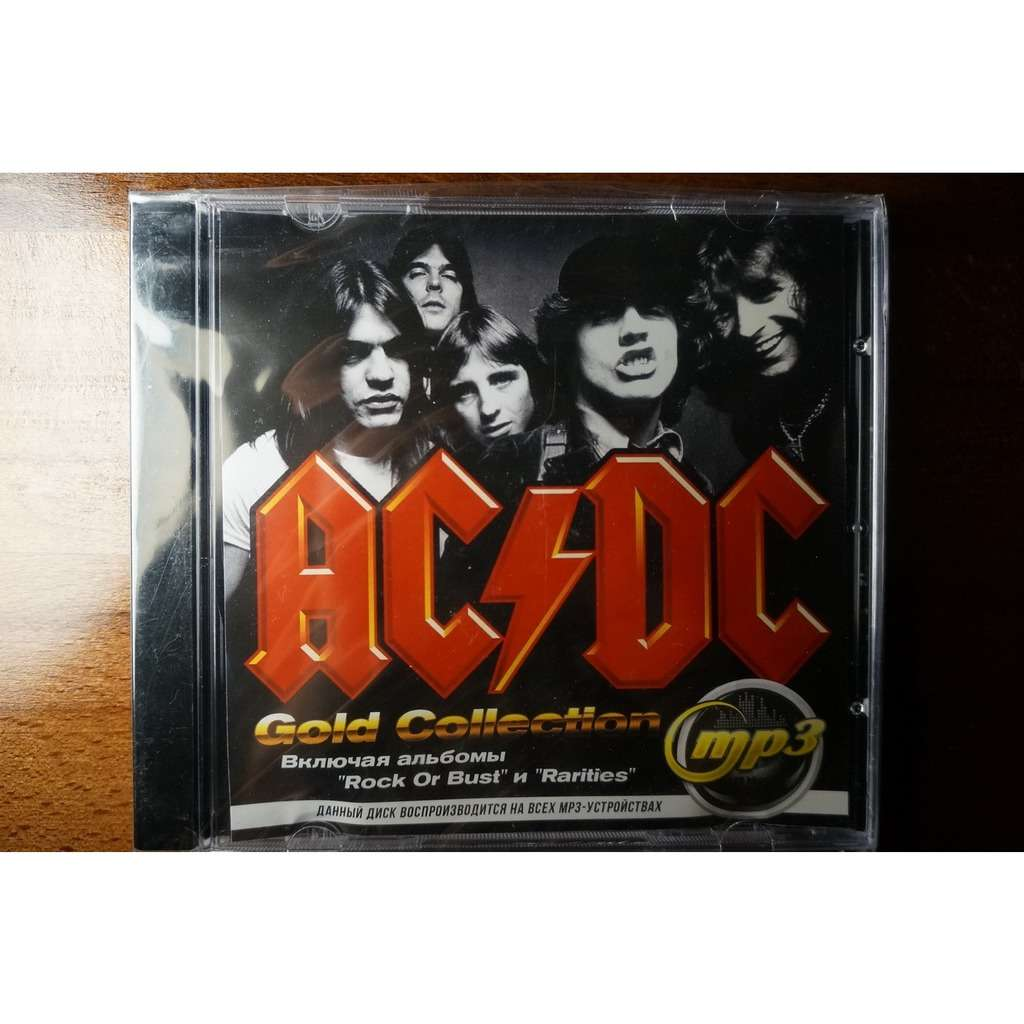 AC/DC MP3 Music - Gold Collection