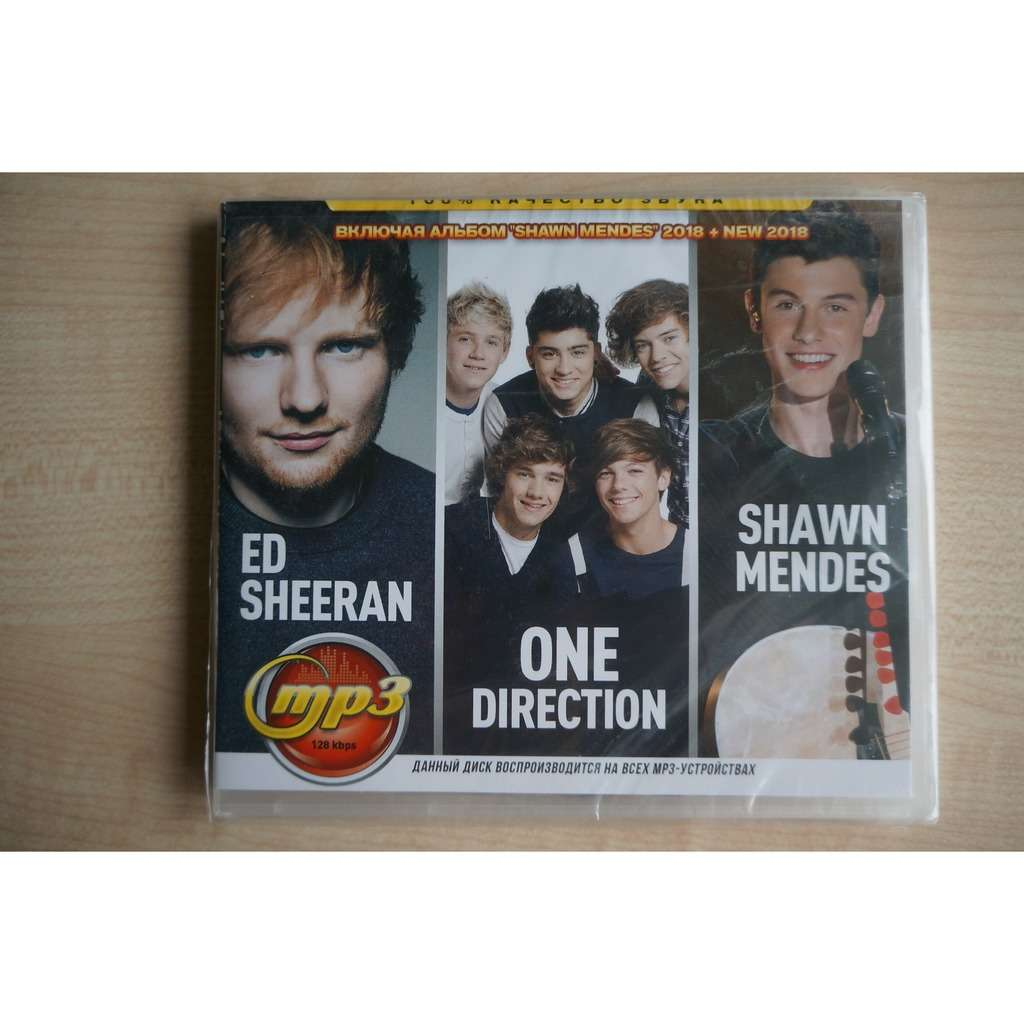 Ed Sheeran, One Direction, Shawn Mendes MP3 Music Collection