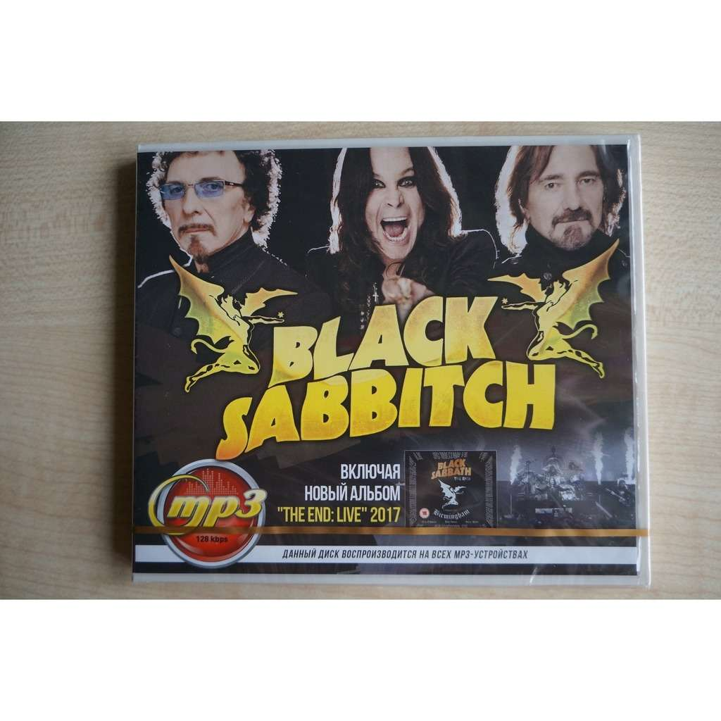 Black Sabbath MP3 Music Collection (including album The End: Live 2017)