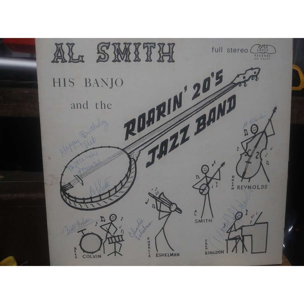 al smith(33)-al smith his banjo and the roarin' 20 Jazz