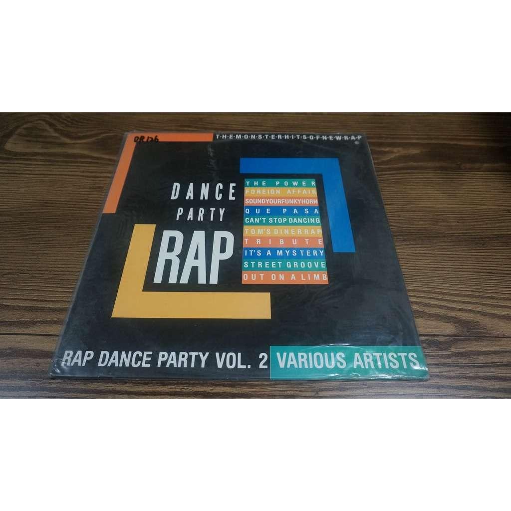 V.A. Rap Dance Party Vol.2