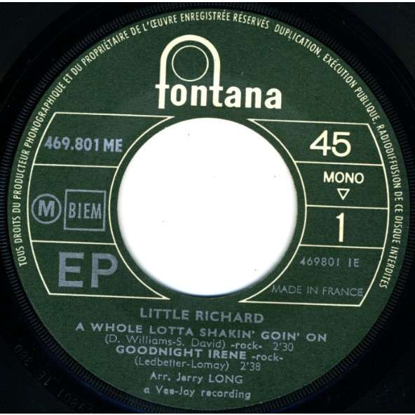 little richard a whole lotta shakin' goin' on