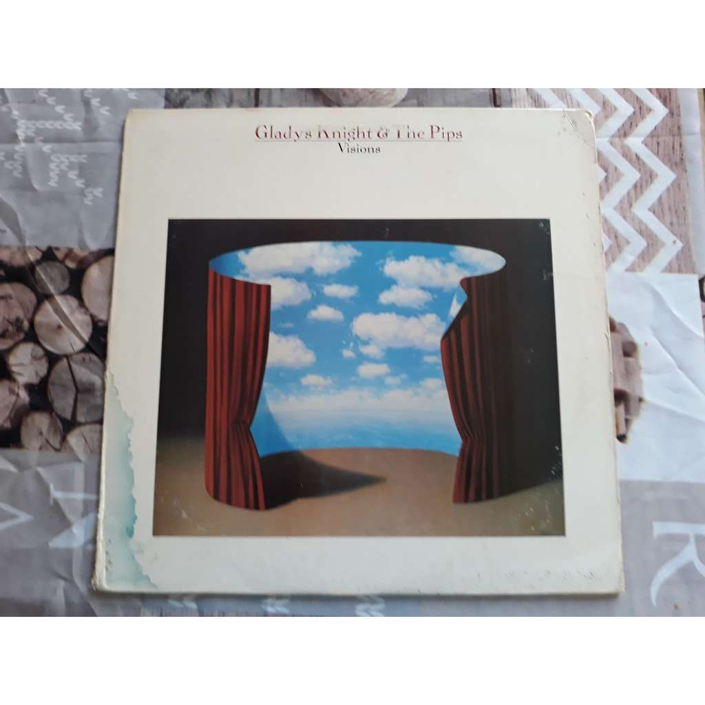 Gladys Knight & The Pips* - Visions (LP, Album, Ca Gladys Knight & The Pips* - Visions (LP, Album, Car)