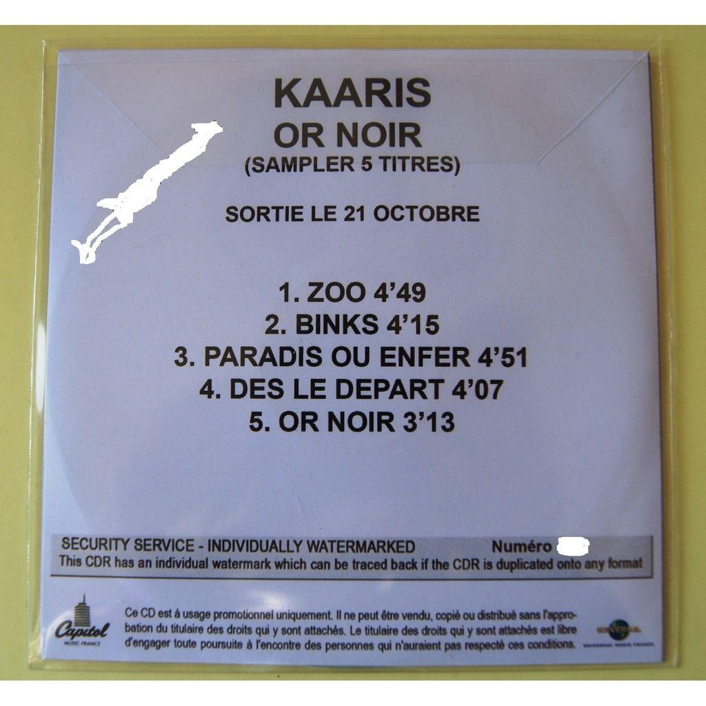 KAARIS OR NOIR