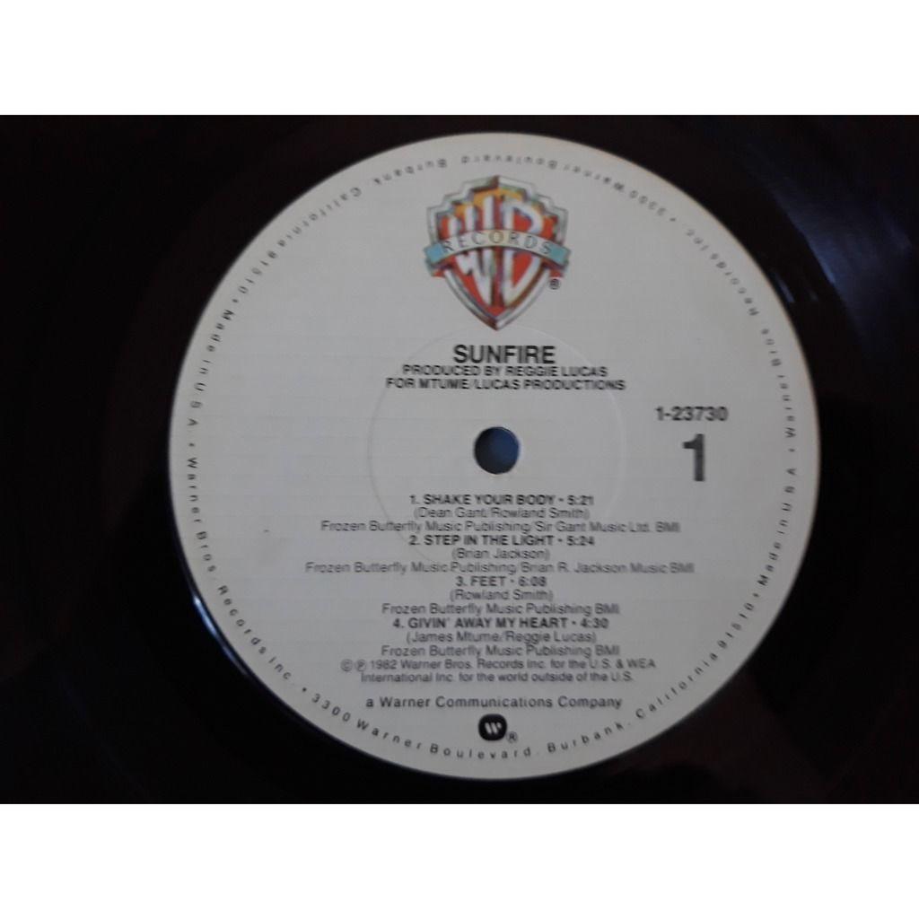 Sunfire (2) - Sunfire (LP, Album) Sunfire (2) - Sunfire (LP, Album)1982