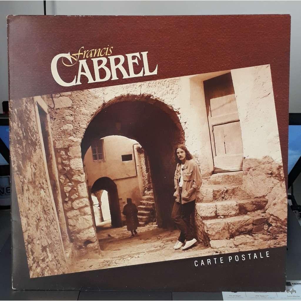 Francis Cabrel Carte Postale