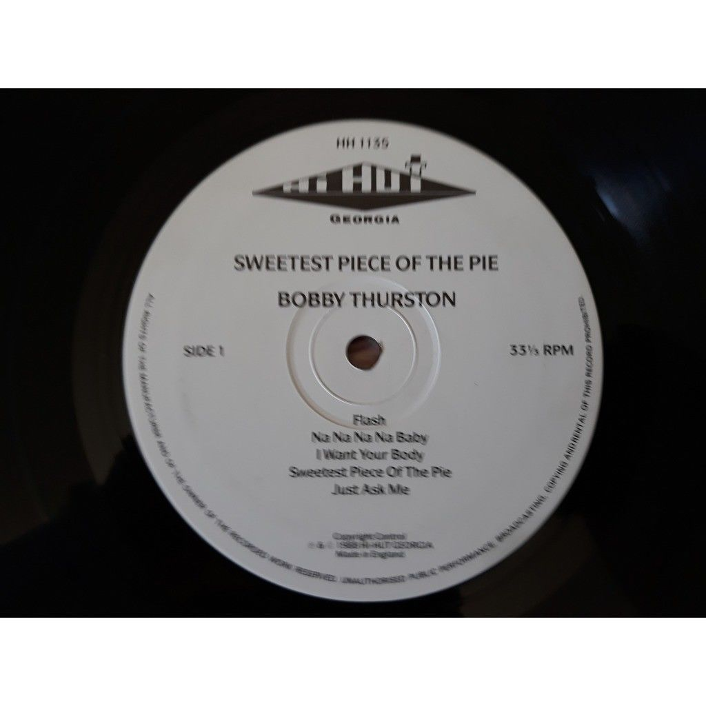 bobby thurston - sweetest piece of the pie - kille bobby thurston - sweetest piece of the pie - killer lp reissued