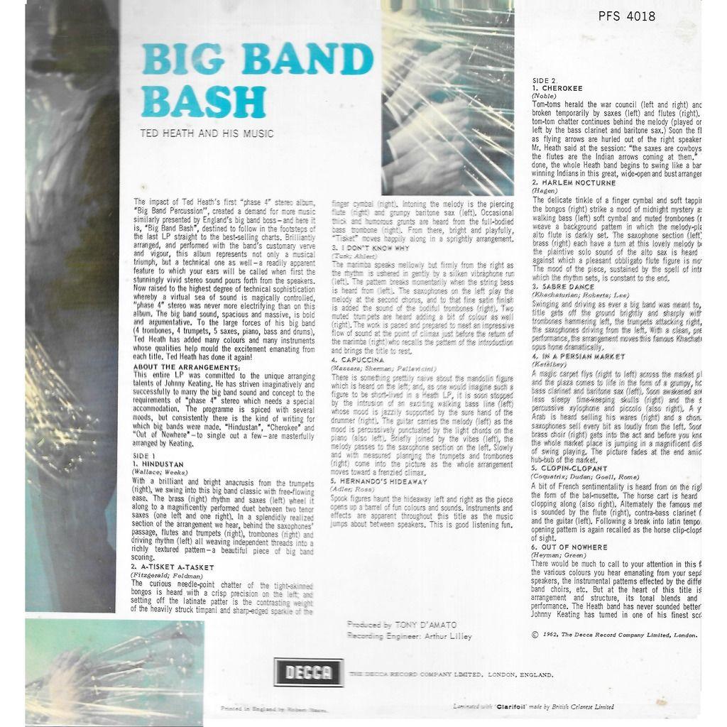 Ted HEATH and his music Big Band Bash