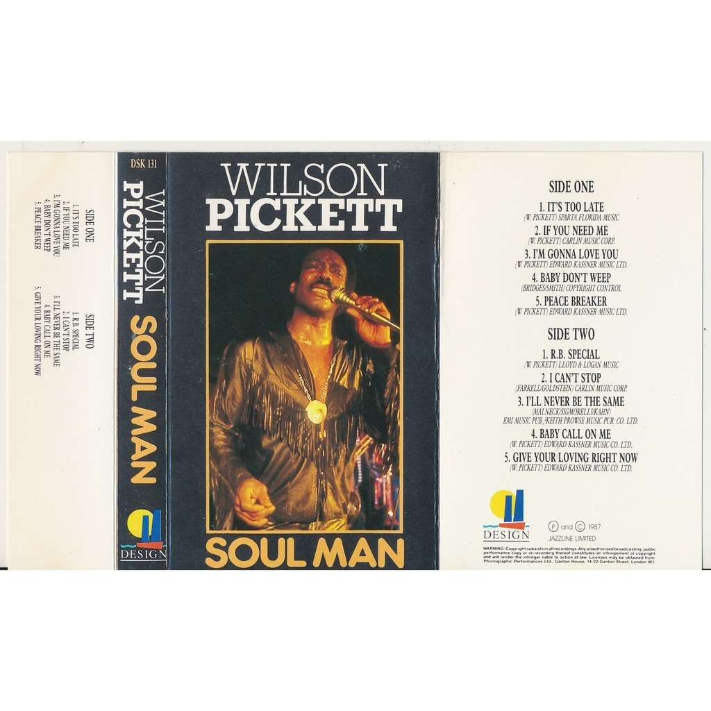 Wilson Pickett soul man