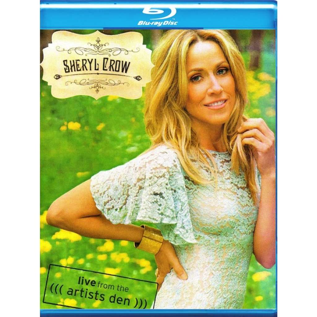 Sheryl Crow Live From The Artists Den Blu-Ray Worldwide Free Shipping