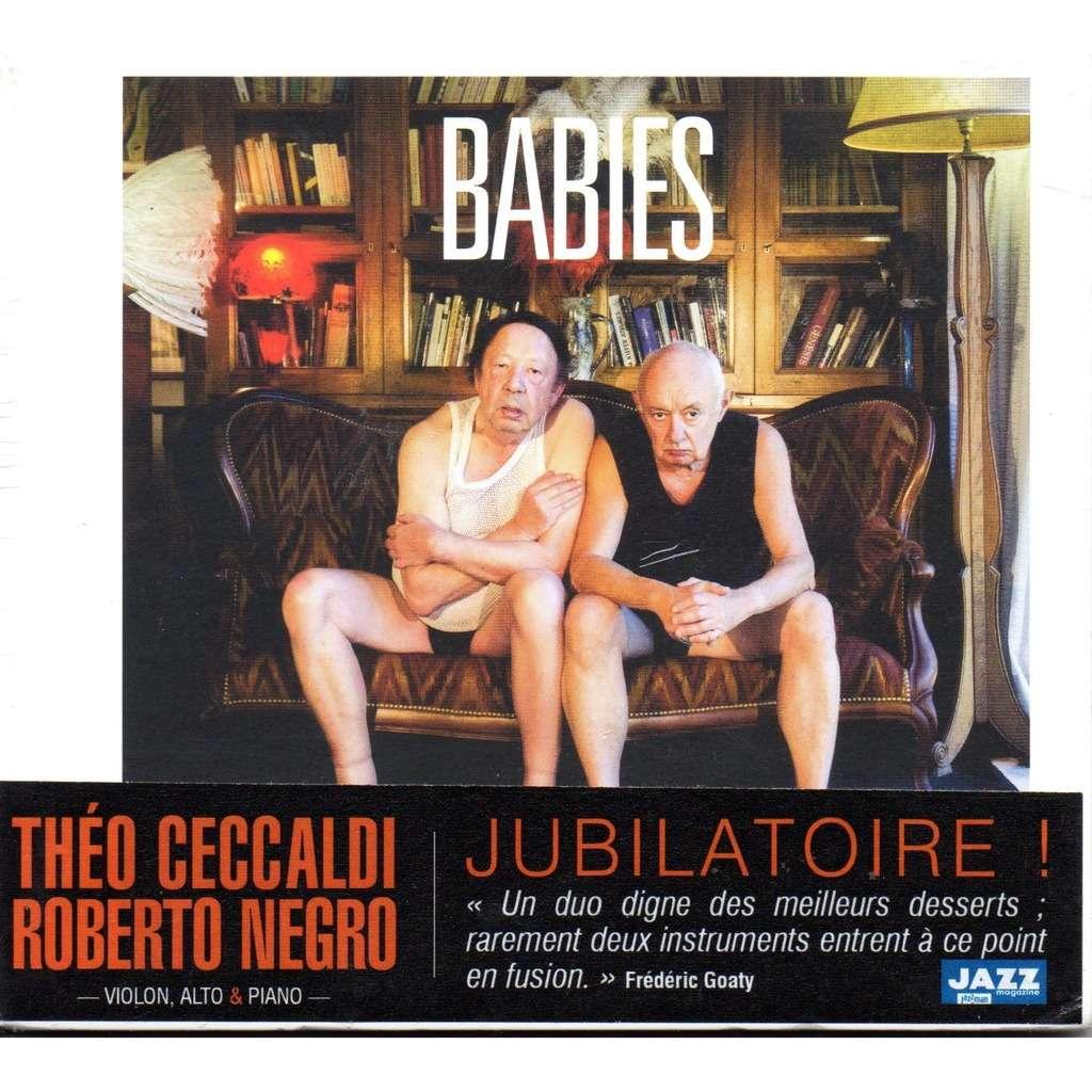 théo ceccaldi & roberto negro babies