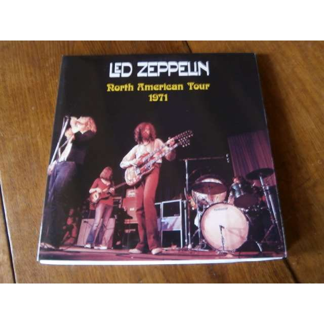 led zeppelin North american tour 1971
