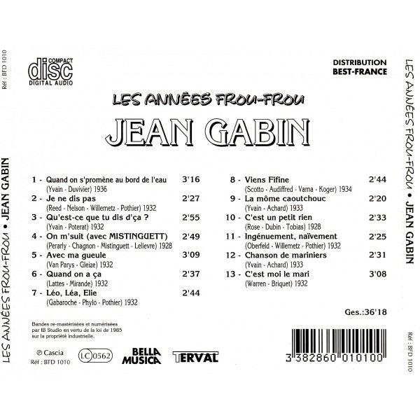 Jean Gabin Les années frou-frou