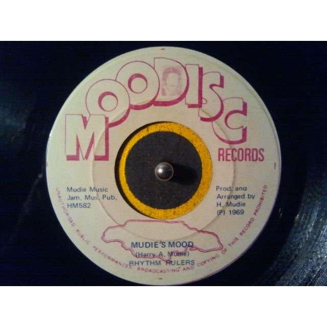 Rhythm Rulers Mudie's Mood / Mudie's Mood With Strings ORIG