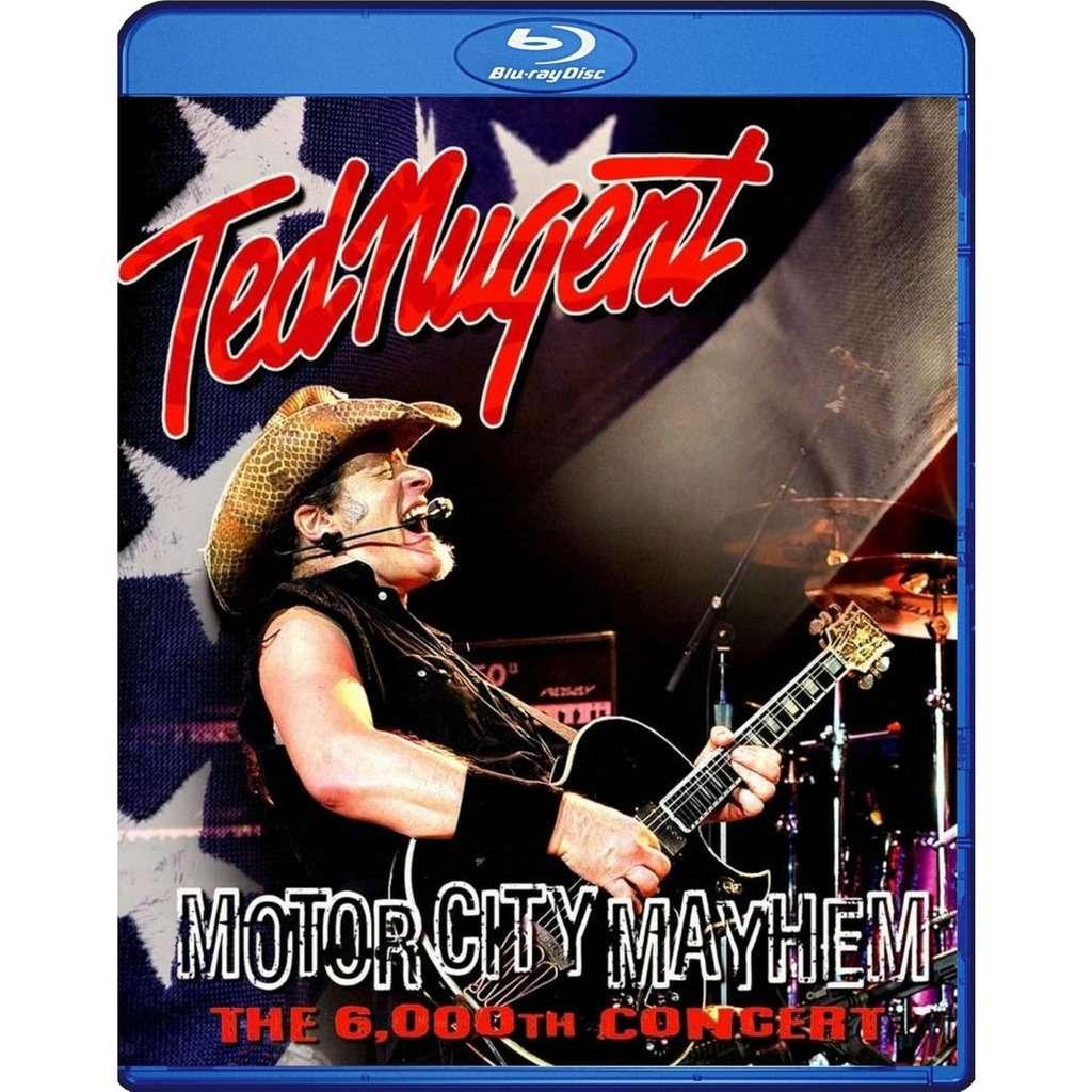Ted Nugent Motor City Mayhem Blu-Ray Worldwide Free Shipping
