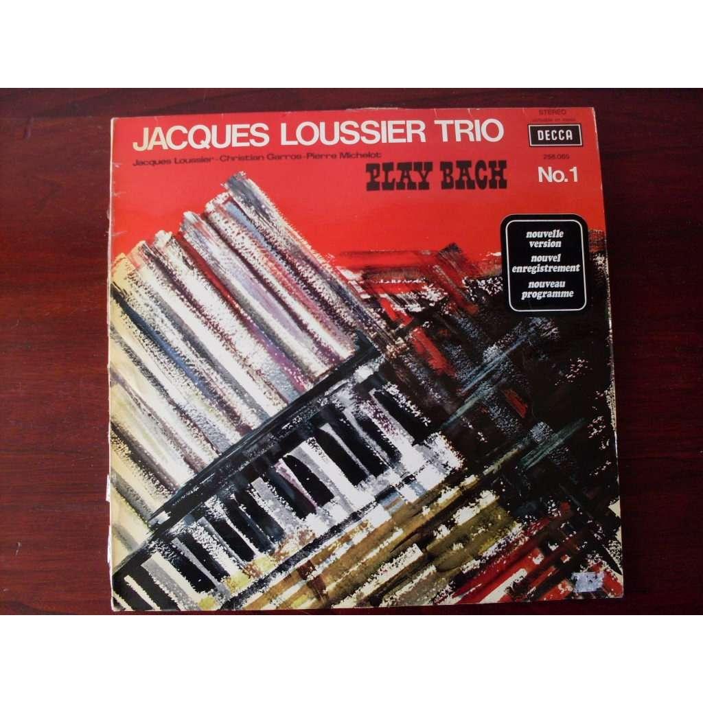 jacques loussier trio Play Bach N°1