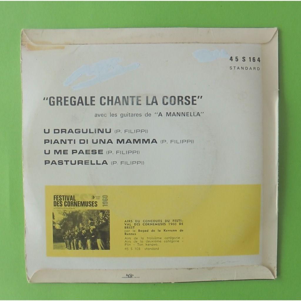 GREGALE / A MANNELLA U DRAGULINU + 3