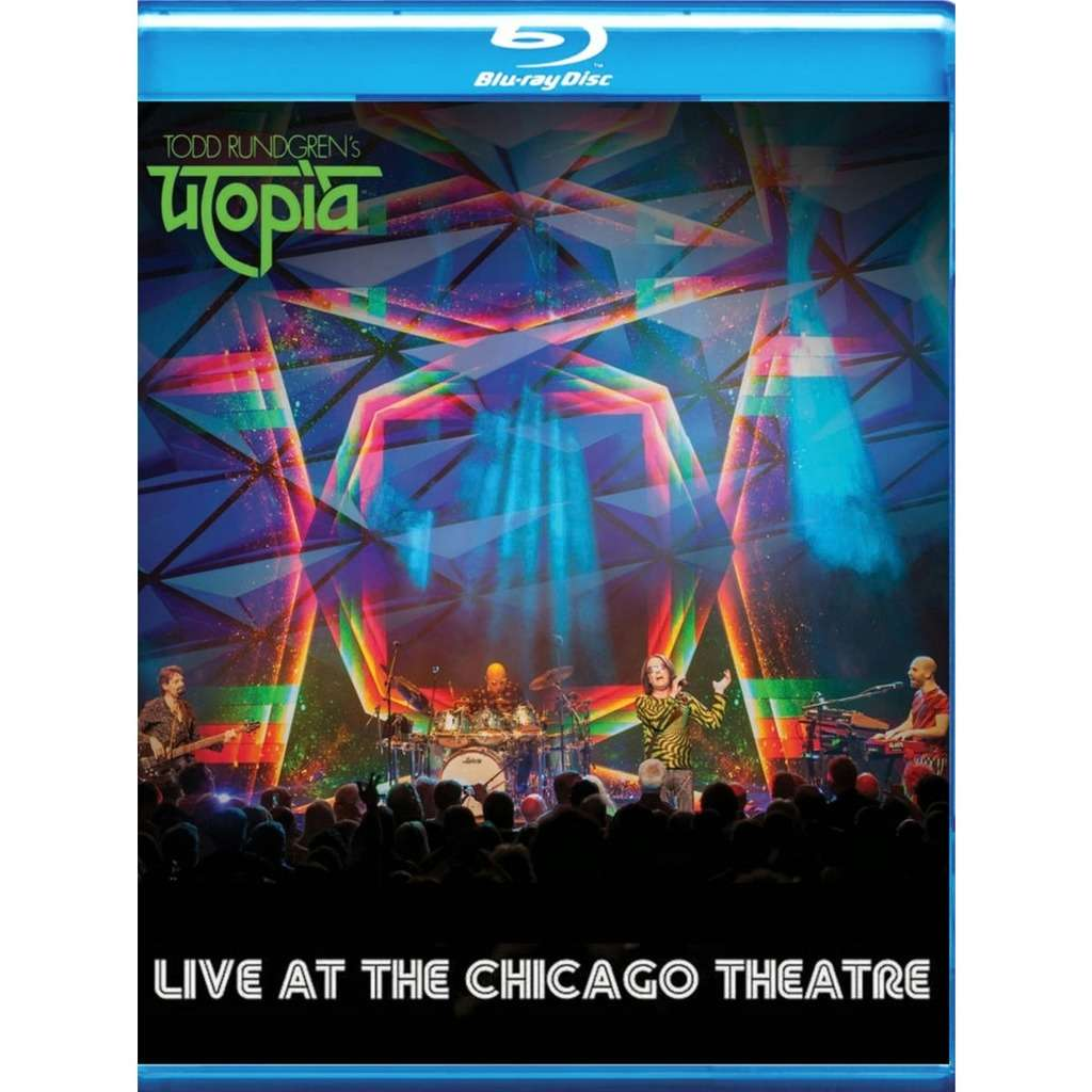 Todd Rundgren Todd Rundgren's Utopia Live At The Chicago Theatre Blu-Ray Worldwide Free Shipping