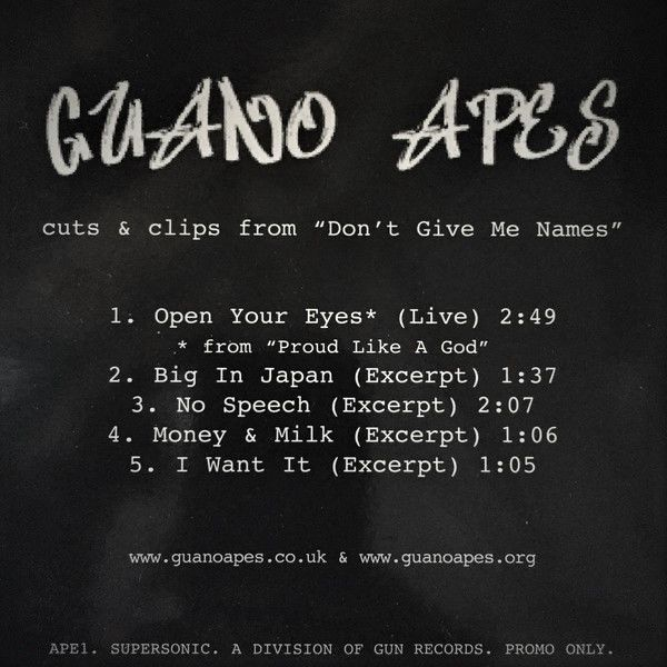 Guano Apes Cuts & Clips From Don't Give Me Names