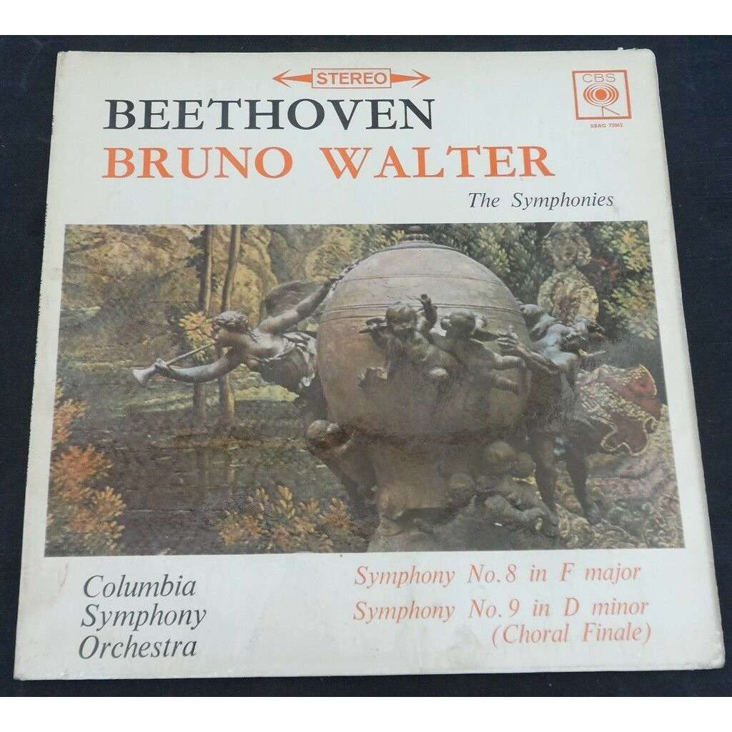 Bruno Walter Beethoven Symphony No. 8 / 9 (Choral Finale)