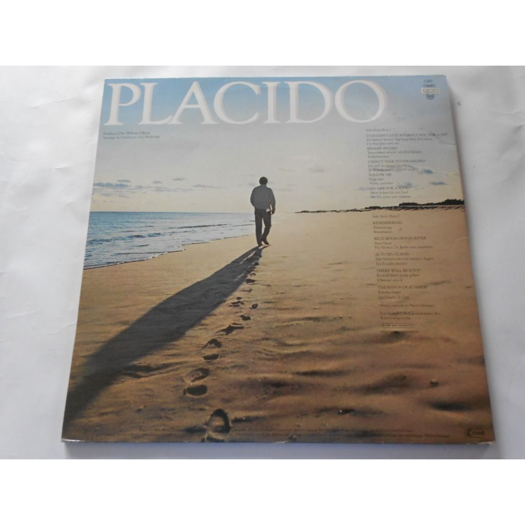 placido domingo my life for a song