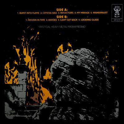 Haunt Burst Into Flame (lp) Ltd Edit Silver Vinyl & 500 Copies -Usa