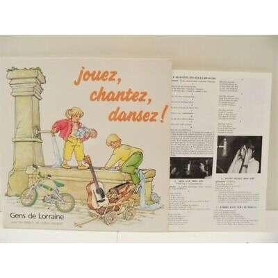 Gens De Lorraine Avec Les Enfants De Didion Raugra Jouez Chantez Dansez