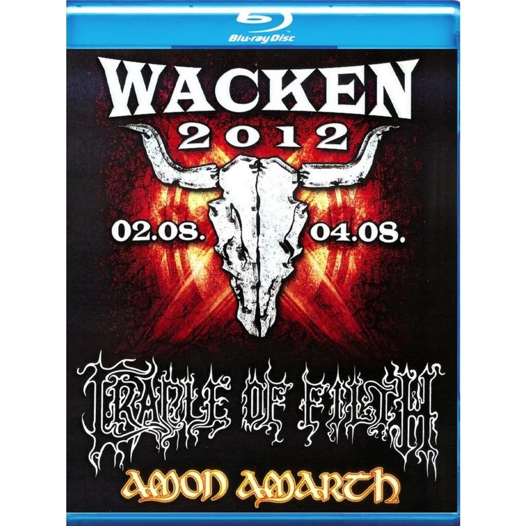 Gradle Of Filth / Amon Amarth Live At Wacken 2012 Blu-Ray Worldwide Free Shipping