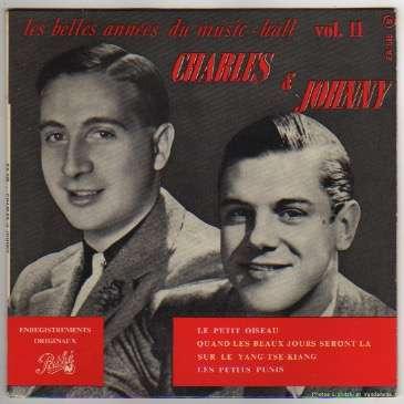 TRENET CHARLES/HESS JOHNNY LE PETIT OISEAU + 3 - CHARLES ET JOHNNY