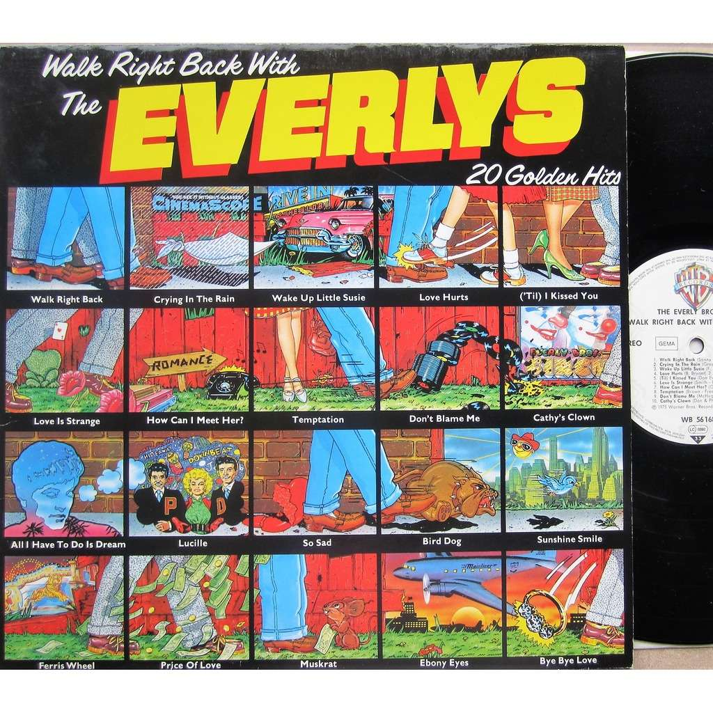 everly brothers walk right back with the everlys