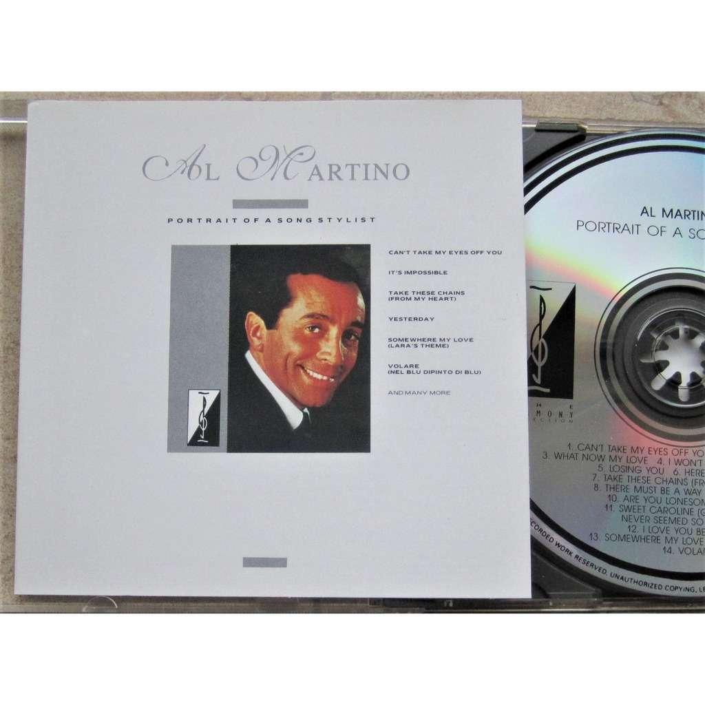 al martino portrait of a song stylist