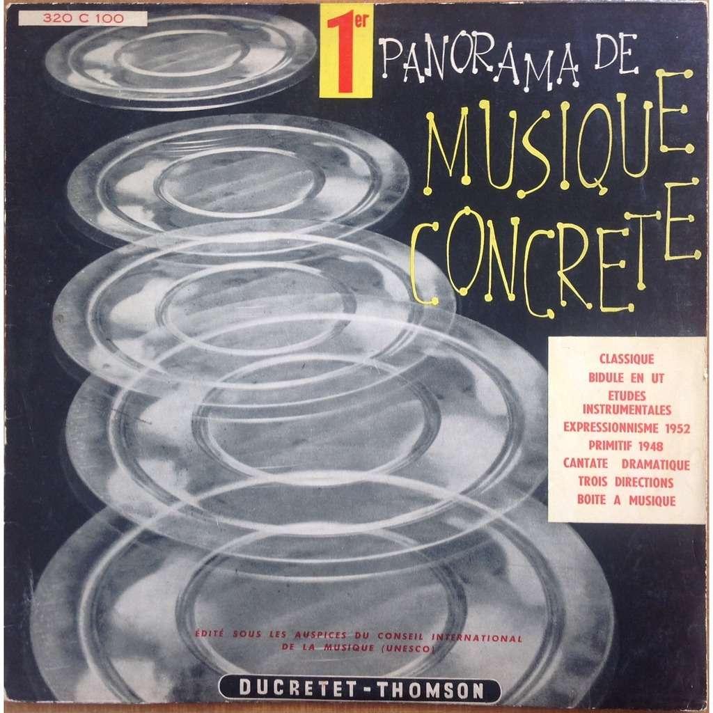 Pierre Henry Pierre Schaeffer Philippe Arthuys 1er Panorama De Musique Concrète