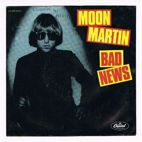 MARTIN MOON BAD NEWS / HAVANA MOON ( label intérieur mauve )