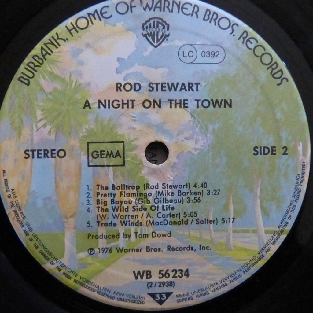 ROD STEWART a night on the town