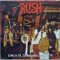 RUSH - Live In St. Catharines, April 1974 (lp) - LP