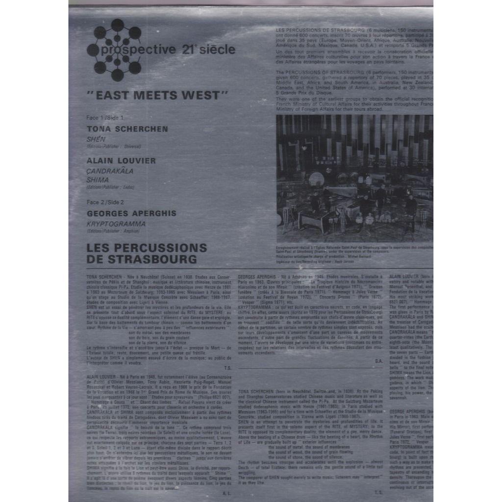 les percussions de strasbourg east meets west
