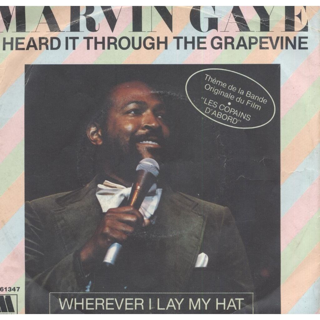 Marvin Gaye I Heard It Through The Grapevine / Wherever I Lay My Hat