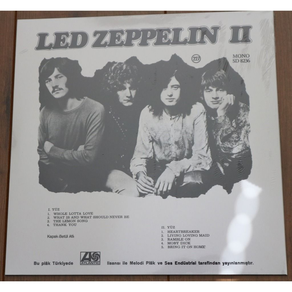 Led Zeppelin Led Zeppelin II / promotional copy on colored vinyl