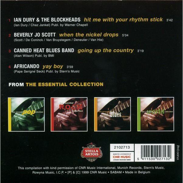 Beverly Jo Scott, Ian Dury & Blockheads, Africando The Essentials
