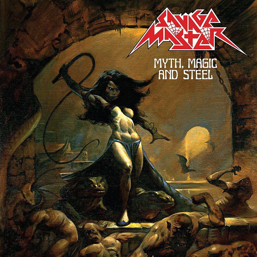 Savage Master Myth, Magic And Steel (lp) Ltd Edit With Insert -Usa