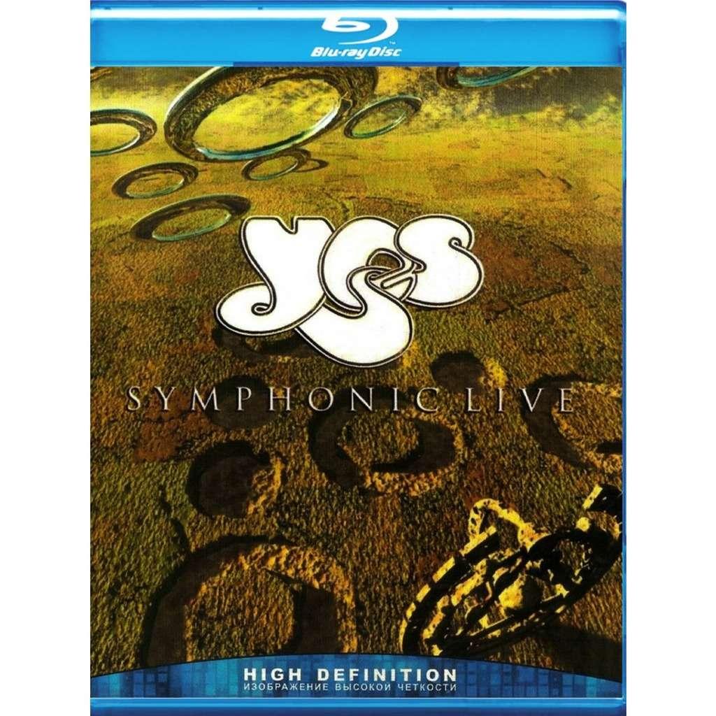 Yes Symphonic Live Blu-Ray Worldwide Free Shipping