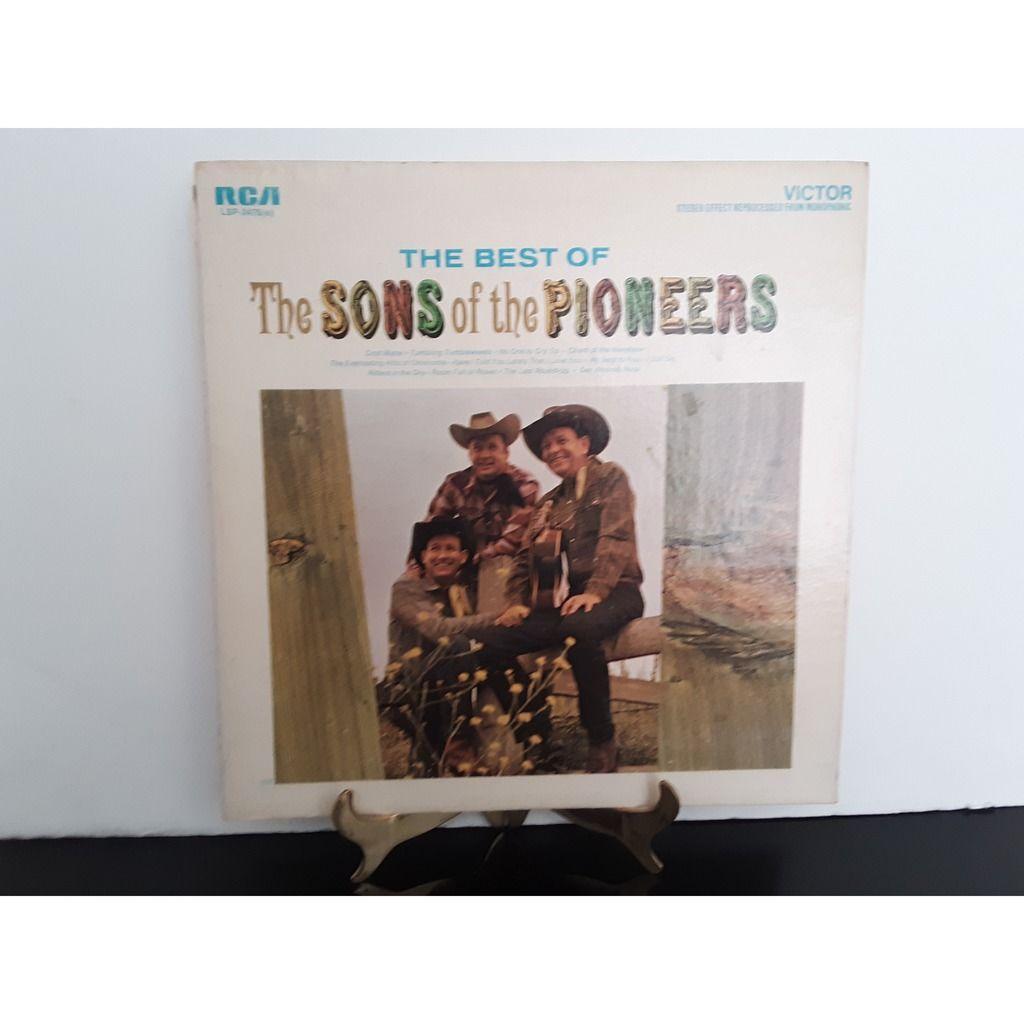Sons Of The Pioneers Bundle of 4 Albums