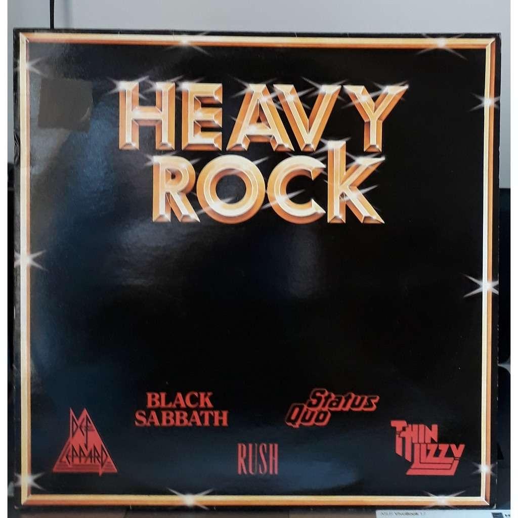 black sabbath, thin lizzy + various heavy rock