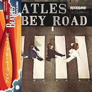 BEATLES, THE ABBEY ROAD ( ROCK BAND MIXES ) CD MINI LP OBI